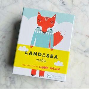Land & Sea Blank NoteCards & Envelopes 20pc Set